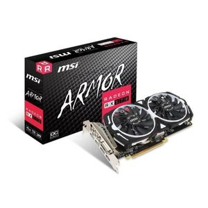 CARTE GRAPHIQUE INTERNE MSI Carte graphique Radeon RX 570 ARMOR 4G OC - 4