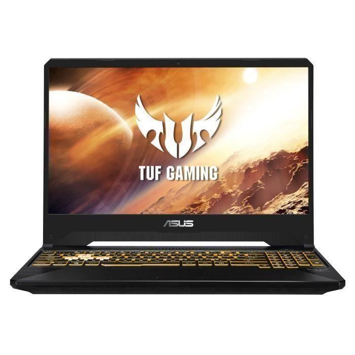 PC Portable Gamer - ASUS TUF565DV-AL125- 15,6-FHD - Ryzen 7-3750H- RAM 8Go - Stockage 512Go SSD - RTX 2060 6G - sans OS