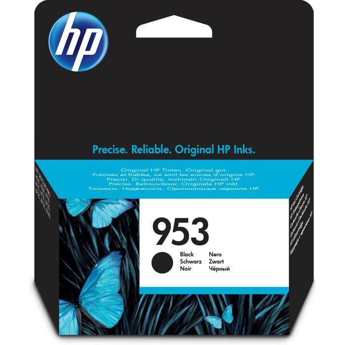 HP 953 cartouche d'encre noire authentique pour HP OfficeJet Pro 8710/8715/8720 (L0S58AE)