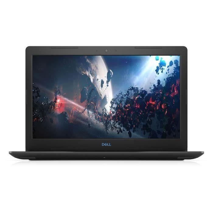 PC Portable Gamer - DELL Inspiron G3 15-3579 - 15,6- FHD - Core i5-8300H - RAM 8Go - Stockage 256Go SSD - GTX 1050 4Go - Windows 10