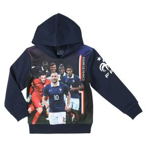 FFF Sweat Football TRG Equipe de France Enfant Garçon FTL
