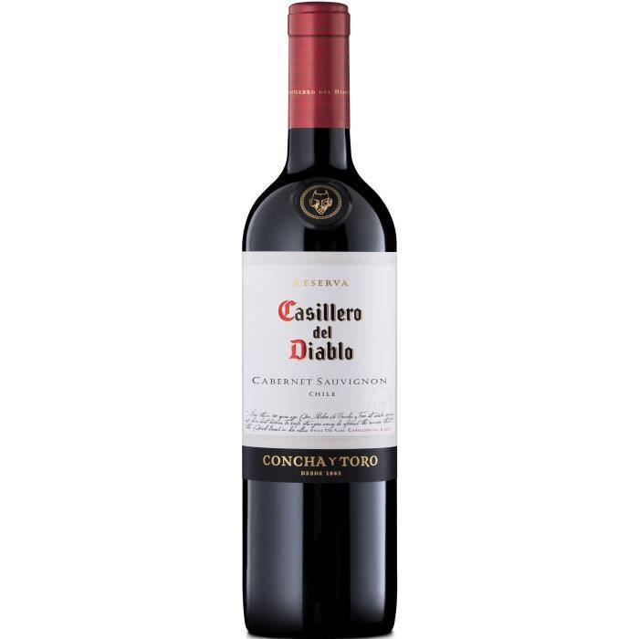 Casillero del Diablo 2018 Cabernet Sauvignon - Vin rouge de Chili