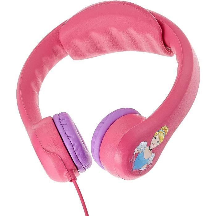 DISNEY PRINCESSES Casque audio enfant LEXIBOOK - flexible et incassable