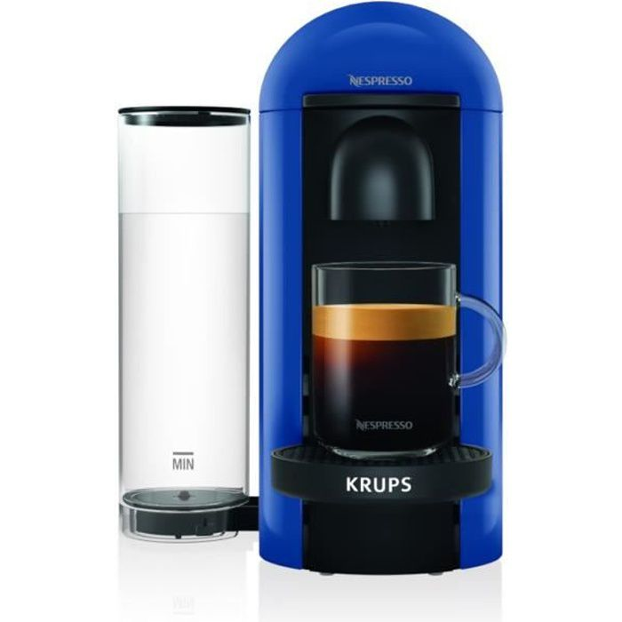 Nespresso Vertuo Plus Bleu 1,2L - Machine à café Krups YY4228FD