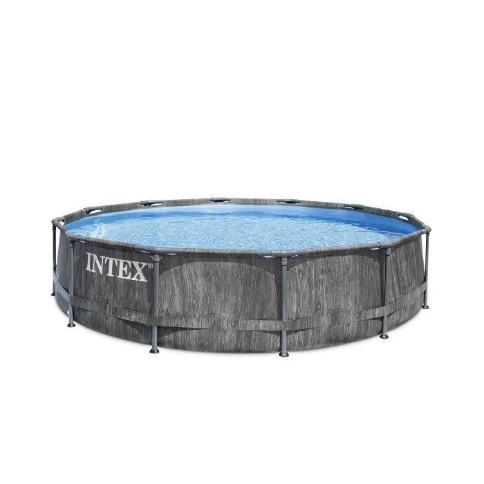 Kit piscine - INTEX TUBULAIRE BALTIK - (ø)3,66 x (h)0,99 m