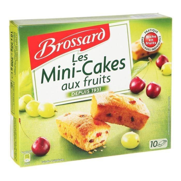 BROSSARD Mini Cake Aux Fruits 300g