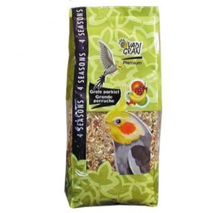 VADIGRAN Lot de 2 Mélange de graines Premium Vita pour grandes perruches 1kg