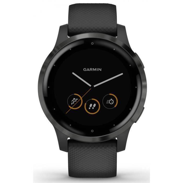 Garmin vivoactive 4S - Montre connectée GPS multisports - Gray Black