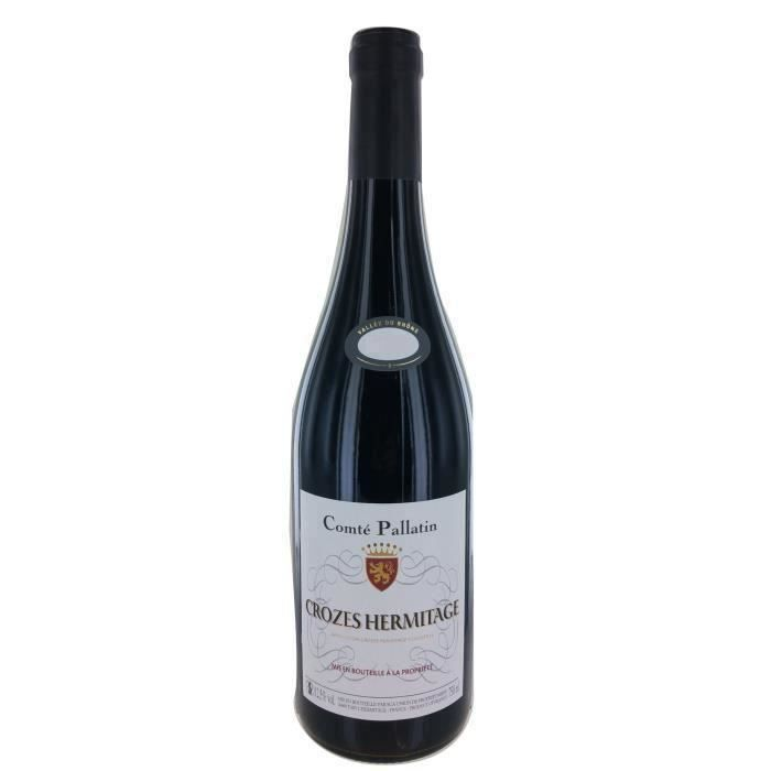 Comté Pallatin 2018 Crozes Hermitage - Vin Rouge de la Vallée du Rhône