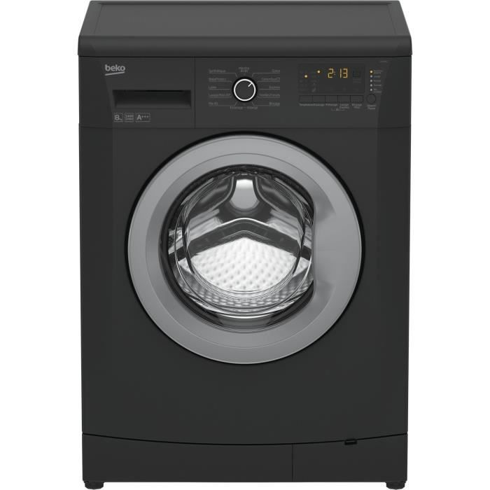 beko llf08a1 lave linge frontal 8kg 1400 tours a lave. Black Bedroom Furniture Sets. Home Design Ideas
