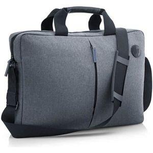 SACOCHE INFORMATIQUE Mallette pour PC portable 15,6 pouces - Compartime
