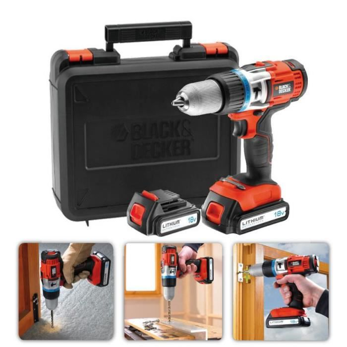 Perceuse black et decker 18v