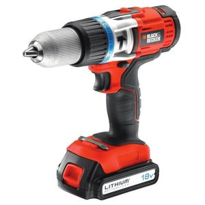 BLACK & DECKER Perceuse 2x18V Lithium EGBHP188BK