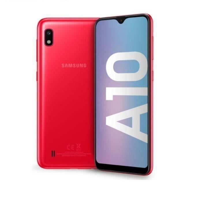 SMARTPHONE Samsung Galaxy A10 Rouge