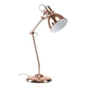 LAMPE A POSER Lampe de bureau en métal chromé vintage - E14 18 W