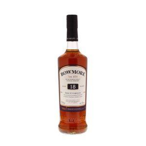 WHISKY BOURBON SCOTCH Whisky Bowmore 18 ans d'âge Deep Et Complex Single