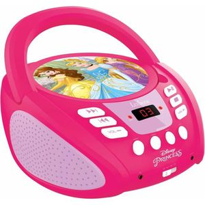 RADIO CD ENFANT LEXIBOOK - DISNEY PRINCESS - Radio Lecteur CD Enfa