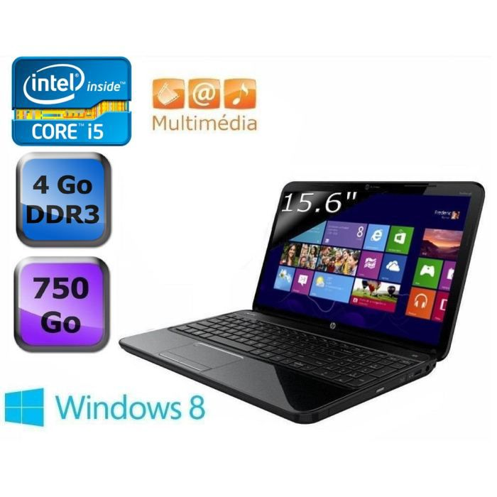ORDINATEUR PORTABLE HP Pavilion g6-2355sf