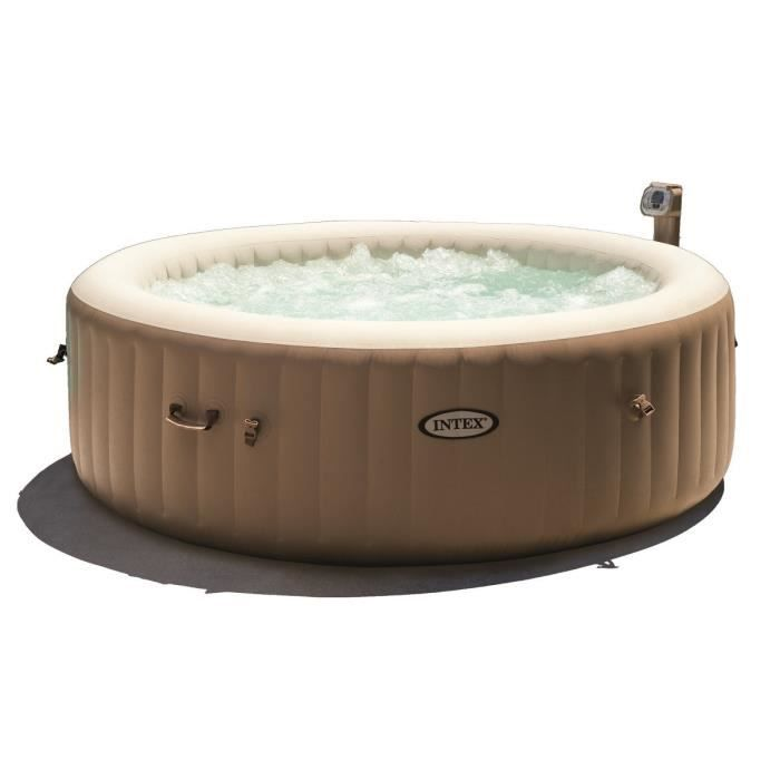 SPA COMPLET - KIT SPA INTEX Pure Spa rond gonflable à bulles 6 places 21