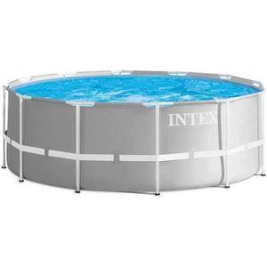PISCINE INTEX Kit piscine Prism Frame - Ø366 x 122 cm