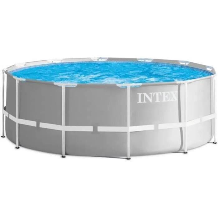 PISCINE INTEX Kit piscine Prism Frame - Ø366 x 122 cm
