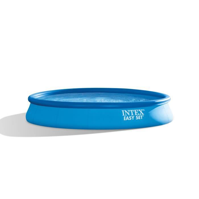 Intex easy set piscine ronde autoportante x m for Piscine ronde intex