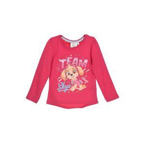 T-SHIRT PAT'PATROUILLE T-shirt - Enfant fille - Rose