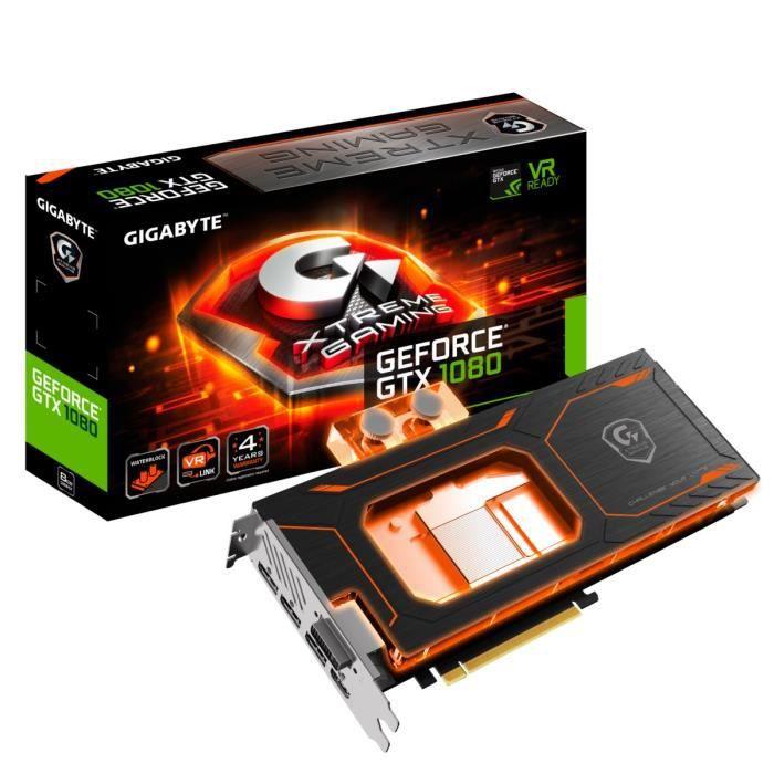 CARTE GRAPHIQUE INTERNE Gigabyte Carte graphique GeForce® GTX 1080 Xtreme