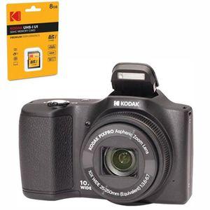 PACK APPAREIL COMPACT KODAK FZ101-bk Appareil photo numérique 16 Mégapix