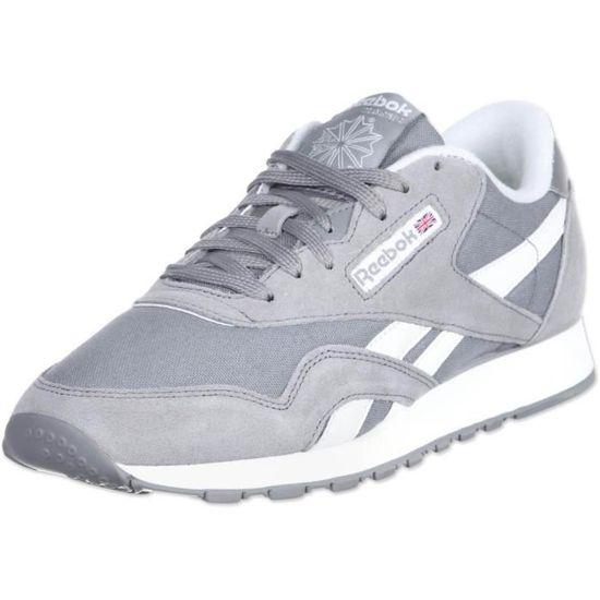 homme chaussure homme reebok chaussure chaussure grise reebok grise QCsdhrxtB