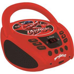 RADIO CD ENFANT LEXIBOOK - Radio Lecteur CD Miraculous