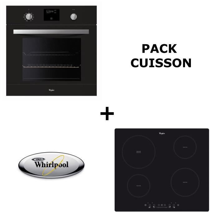 Whirlpool pack cuisson four pyrolyse table induction - Table de cuisson induction whirlpool ...