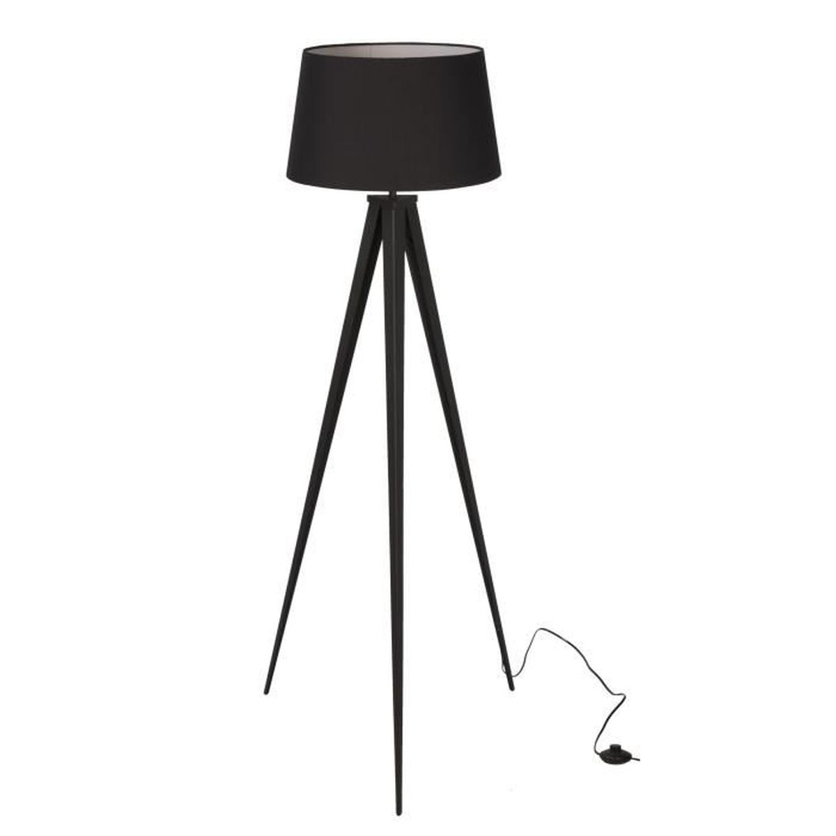 trident lampadaire tr pied largeur 45 x h154 achat vente trident lampadaire tr pied cdiscount. Black Bedroom Furniture Sets. Home Design Ideas