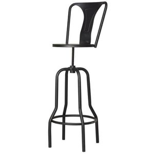 tabouret de bar industriel achat vente tabouret de bar industriel pas cher cdiscount. Black Bedroom Furniture Sets. Home Design Ideas