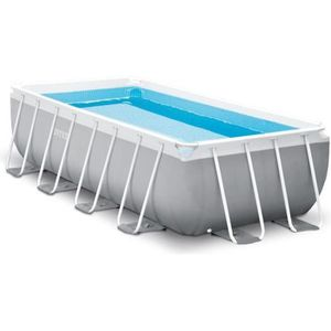 PISCINE INTEX Kit piscine rectangulaire Prism Frame - 400
