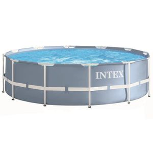PISCINE INTEX Kit piscine tubulaire ronde Prism Frame Ø 3,