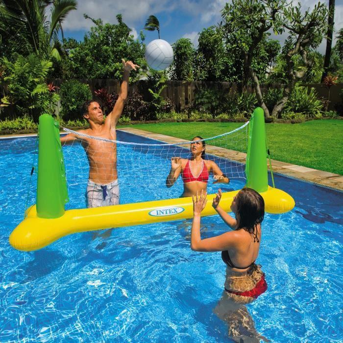 JEUX DE PISCINE INTEX Jeu de Volley flottant pour piscine