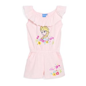COMBINAISON LA REINE DES NEIGES Combi-Short Rose Enfant Fille