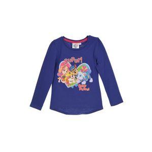 T-SHIRT PAT'PATROUILLE T-shirt - Enfant fille - Violet