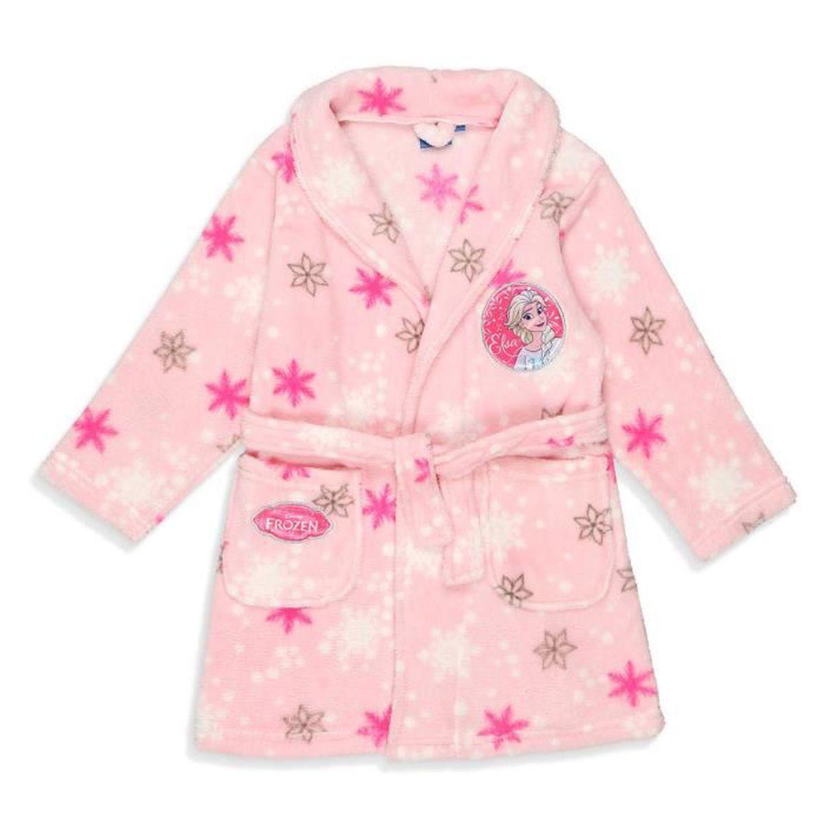 PYJAMA FROZEN Robe de Chambre Coral Fille 100% Polyester