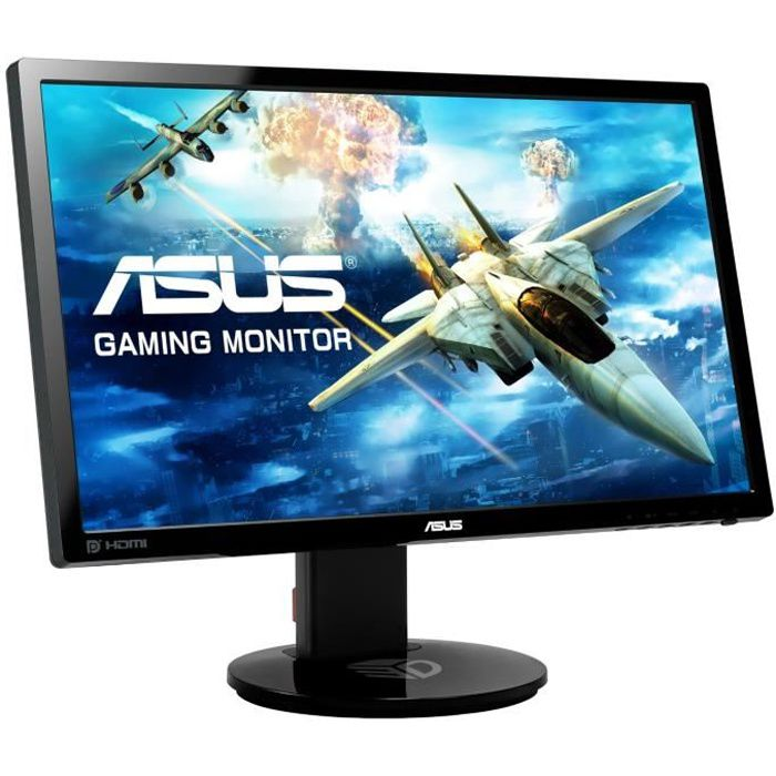asus vg248qe ecran 24 39 39 led full hd 144hz 1ms prix pas cher les soldes sur cdiscount. Black Bedroom Furniture Sets. Home Design Ideas