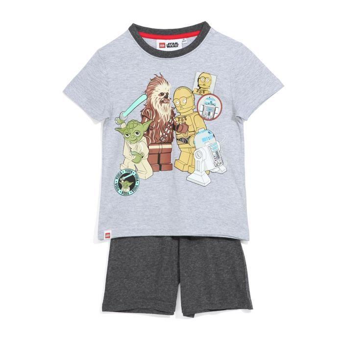 Garçons Filles Enfants Officiel LEGO NINJAGO blanc à manches courtes T shirt Top