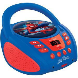 RADIO CD ENFANT LEXIBOOK - SPIDERMAN - Radio Lecteur CD Enfant