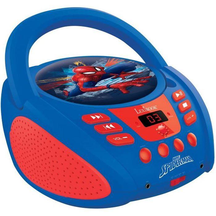 RADIO CD ENFANT LEXIBOOK - SPIDERMAN - Radio Lecteur CD Enfant