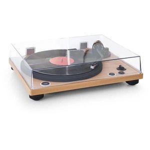 PLATINE VINYLE Thomson TT450BT Tourne Disques - Bluetooth -  Bois