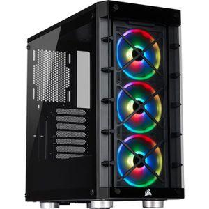 BOITIER PC  CORSAIR Boîtier connecté iCUE 465X RGB - ATX Moyen