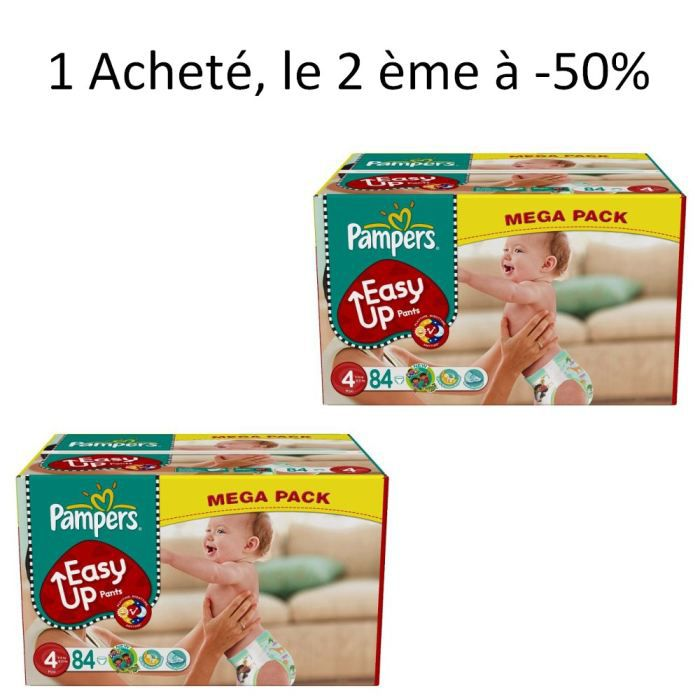 Pampers easy up - Achat couches pampers en gros pas cher ...