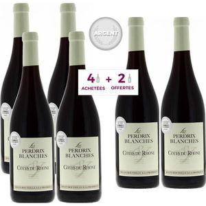 VIN ROUGE 4 achetées + 2 Offertes - Les Perdrix Blanches 201