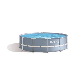 PISCINE INTEX Kit Piscine ronde tubulaire Prism Frame - 3,