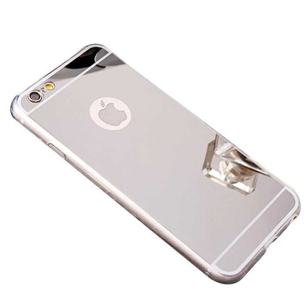 kesu r coque iphone 7s 7 effet miroir coloris arg
